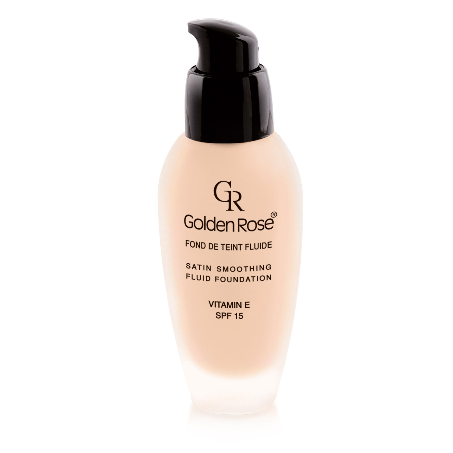 ТОНАЛЬНЫЙ КРЕМ GOLDEN ROSE SATIN SMOOTHING FLUID